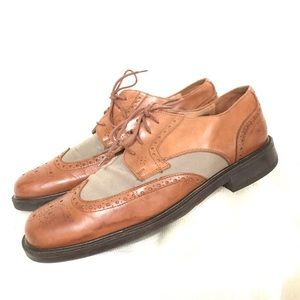 Johnston & Murphy Wingtip Leather Oxford Shoes 11